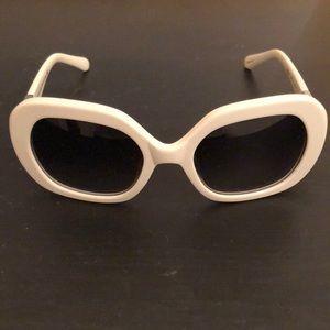 Kate spade white sunglasses